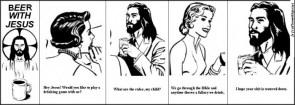 Beer with Jesus