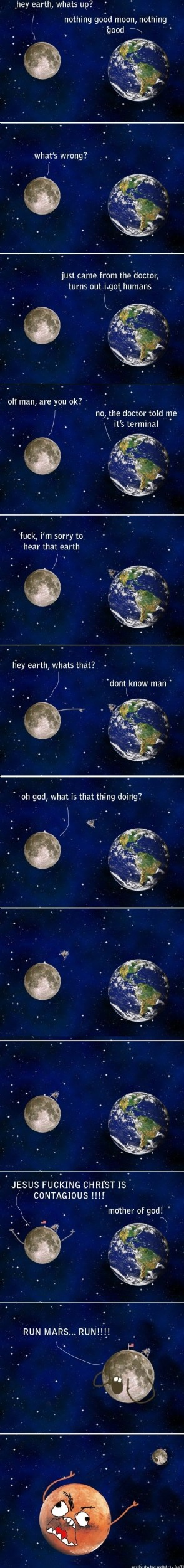 Hey Earth? What's up?