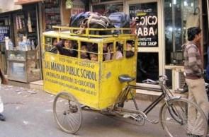 New Delhi School Bus