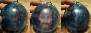 Jean Reno Christmas ornament