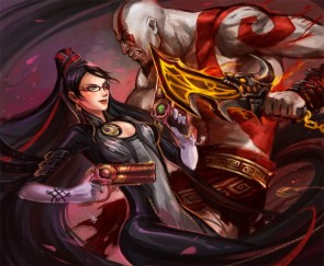 bayonetta and cratos