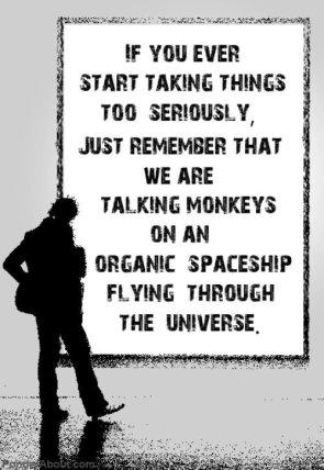 We are talking monkeys