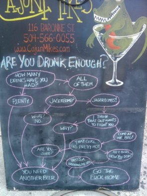 Are you drunk enough?