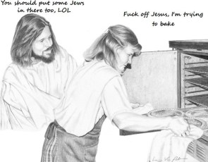 Baking with Jesus