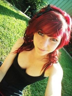cute redhead