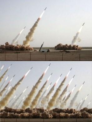Iranian Missile Photo Faked!