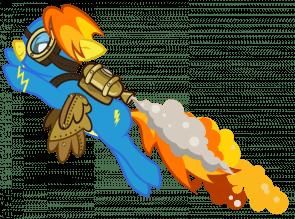 steampunk ponny