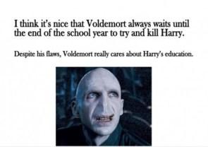 Harry's edumacation