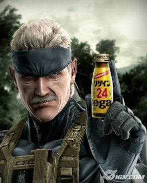 Solid Snake Product Placement