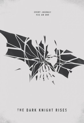The Dark Knight Returns Minimal Poster
