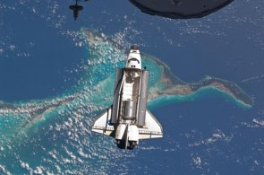shuttle over water