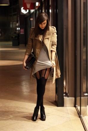 chick in coat