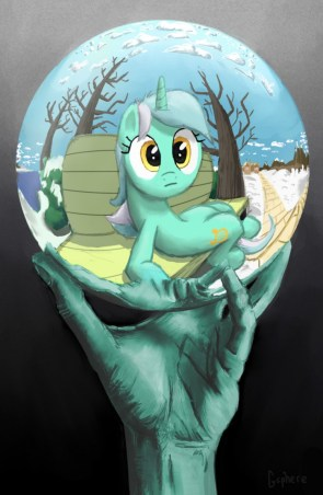 Escher ponny