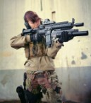 chick and her m-14