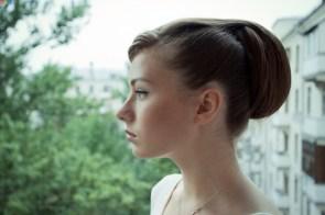 Profile potrait
