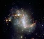 Topsy turvy galaxy