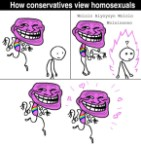 How conservatives view homosexuals