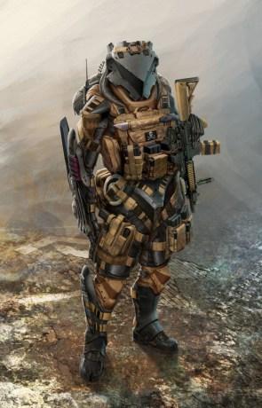 Badass Soldier