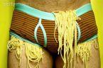 spaghetti pants