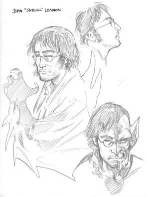 """John """"Skrull"""" Lennon"""