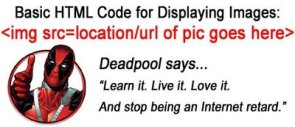 HTML coding by dead pool