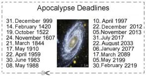 Apocalypse Deadlines