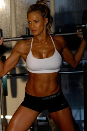 Ripped chick