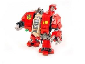 Warhammer 40k Lego Dreadnought