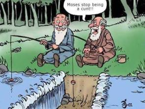 Moses is a jerk
