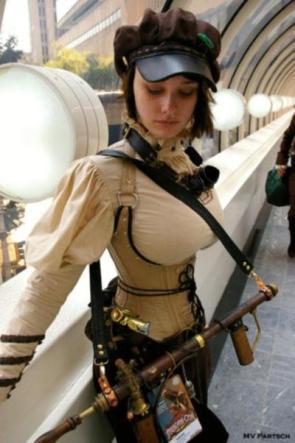 Capt. Steampunk Tits