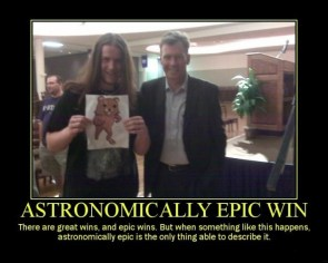 Astronomical Win