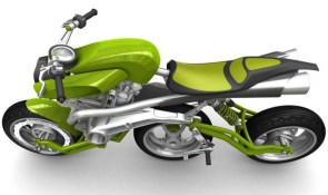 Axial-Motiv Three Wheeler Motorcycle