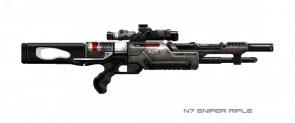 Mass effect guns