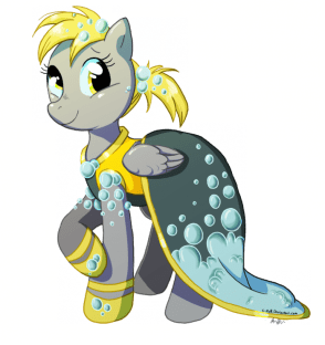 derpy gala dress