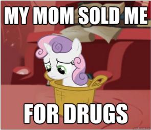 crack pony