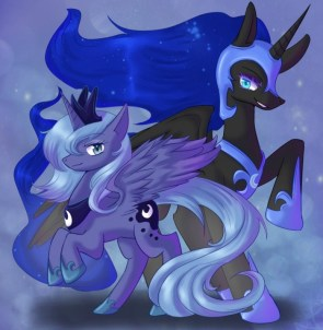 luna and nightmare mane