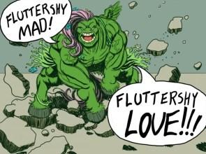 fluttershy hulk