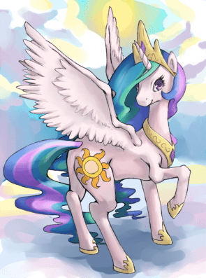 princess celestia by rustystones