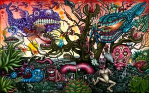 Trippy nightmare art