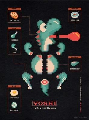 Yoshi – Tastes like chicken