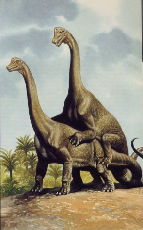 Dinosaurs Having Sex (NSFW if You Are a Dino)