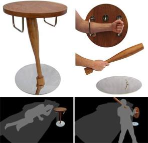 Self-defense nightstand
