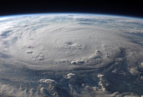 Hurricane Felix from space