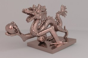 Copper dragon