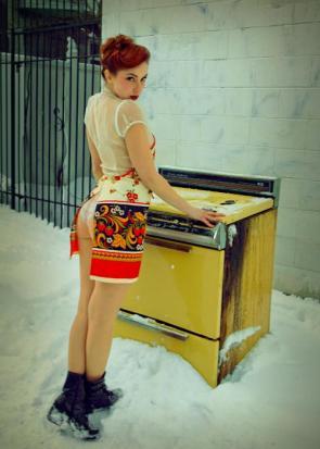 Snow oven