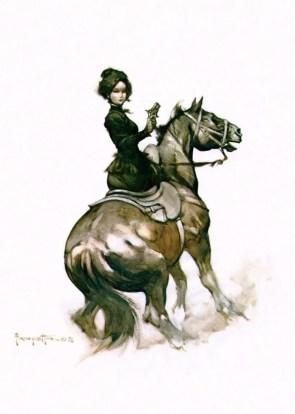 Madame Derringer by Frazetta