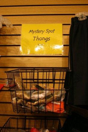Mystery Spot Thongs