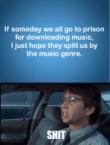 Music genre in prison