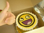 Awesome Smiley Cake