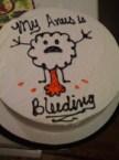 Anus cake